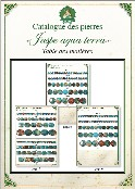 Catalogue jaspe aqua terra