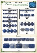 Catalogue Agate bleue